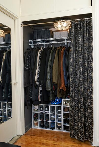 A New York City Closet Makeover With Closetmaid And