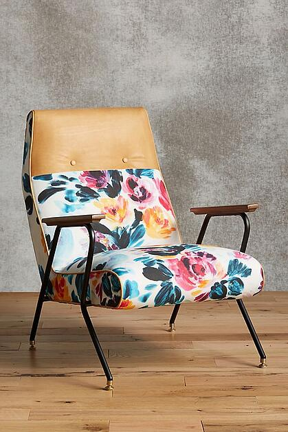 Anthropologie_Quentin Chair_Vivid Floral