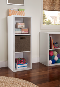 Decorative Storage_3 Cube_ClosetMaid