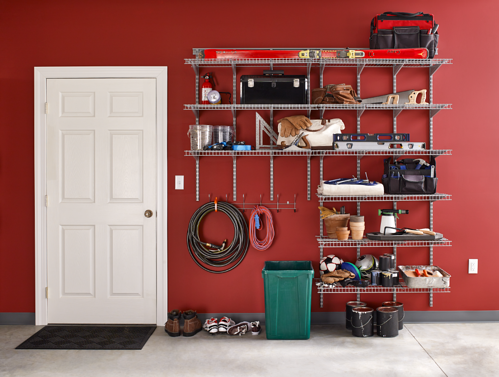 Heavy Duty Wire Shelving_Garage