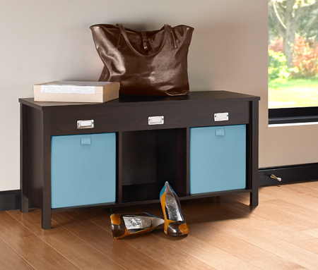 3 Cube Storage Bench_BKW