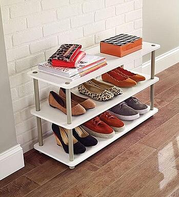 Shoe Rack_3-Tier Shoe Organizer