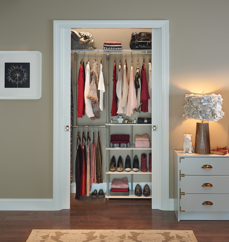 Bedroom Closet_Closet Maximizer