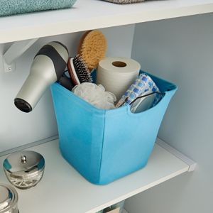 ClosetMaid Fabric Bin_Bathroom_