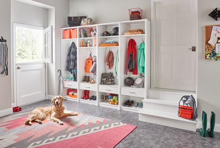 ClosetMaid SpaceCreations_Mudroom_
