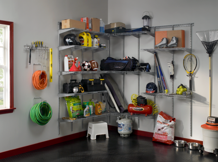 Garage_Heavy Duty Wire Shelving
