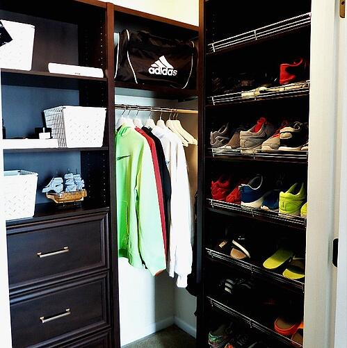 Be My Guest with Denise_Teen Bedroom Closet