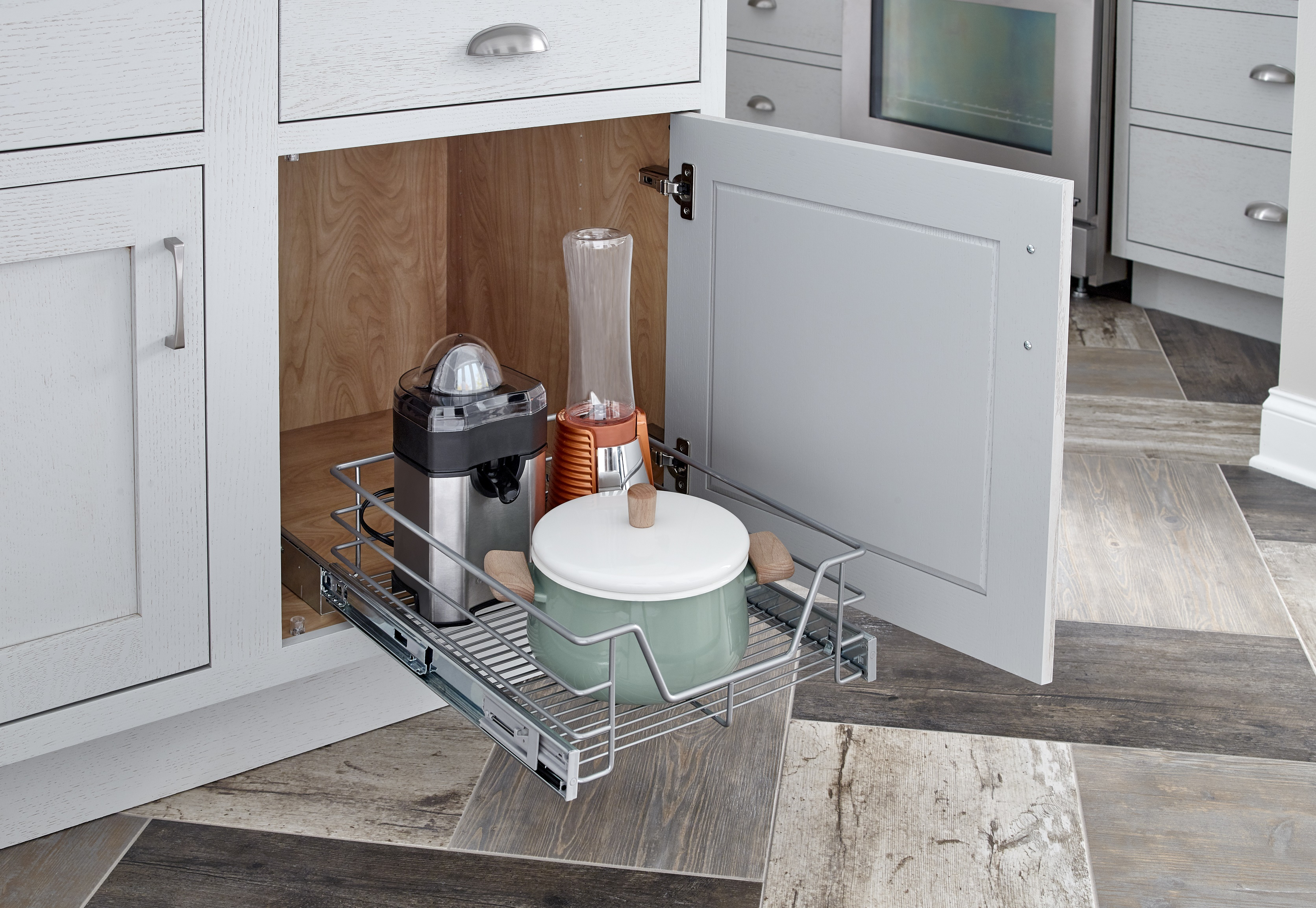 pull out kitchen basket