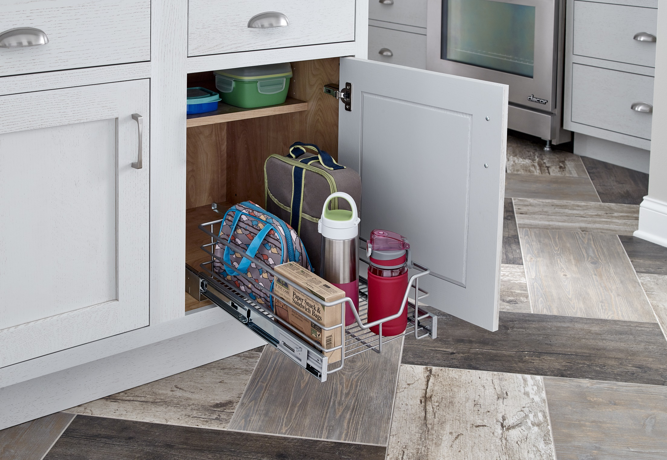 pull-out kitchen cabinet organizer