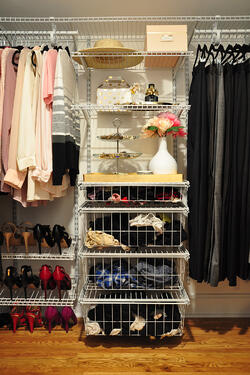 DIY Master Closet Makeover Before & After 19