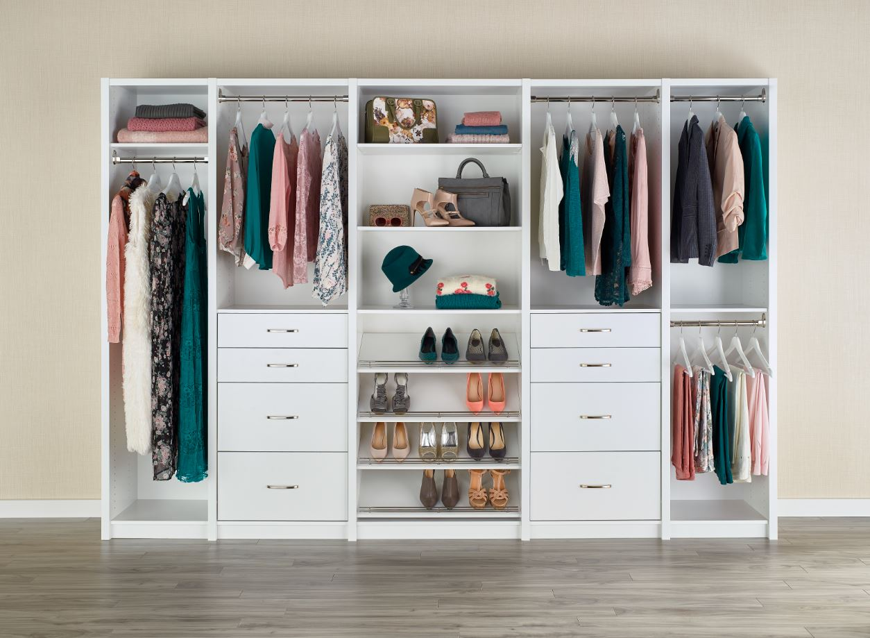 One Closet – Three Budgets: Good, Better, Best