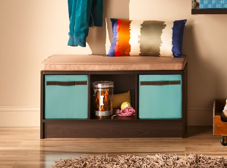 Win a ClosetMaid Storage Bench!