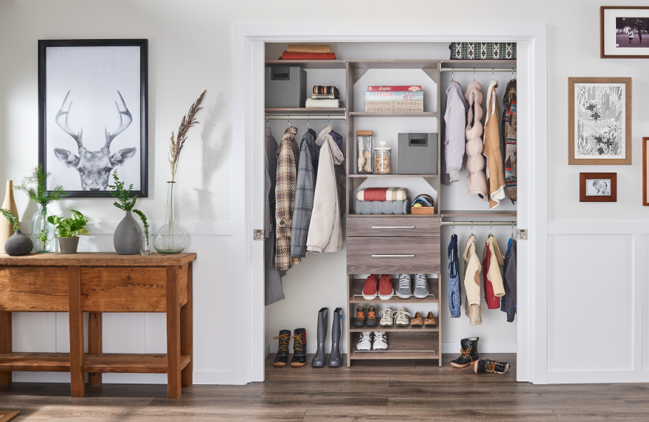 How to Organize Small Entryways