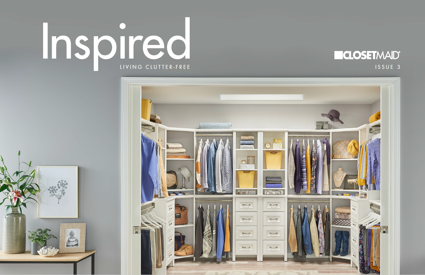 Get Inspired! Your ClosetMaid Guide to Living Clutter-Free