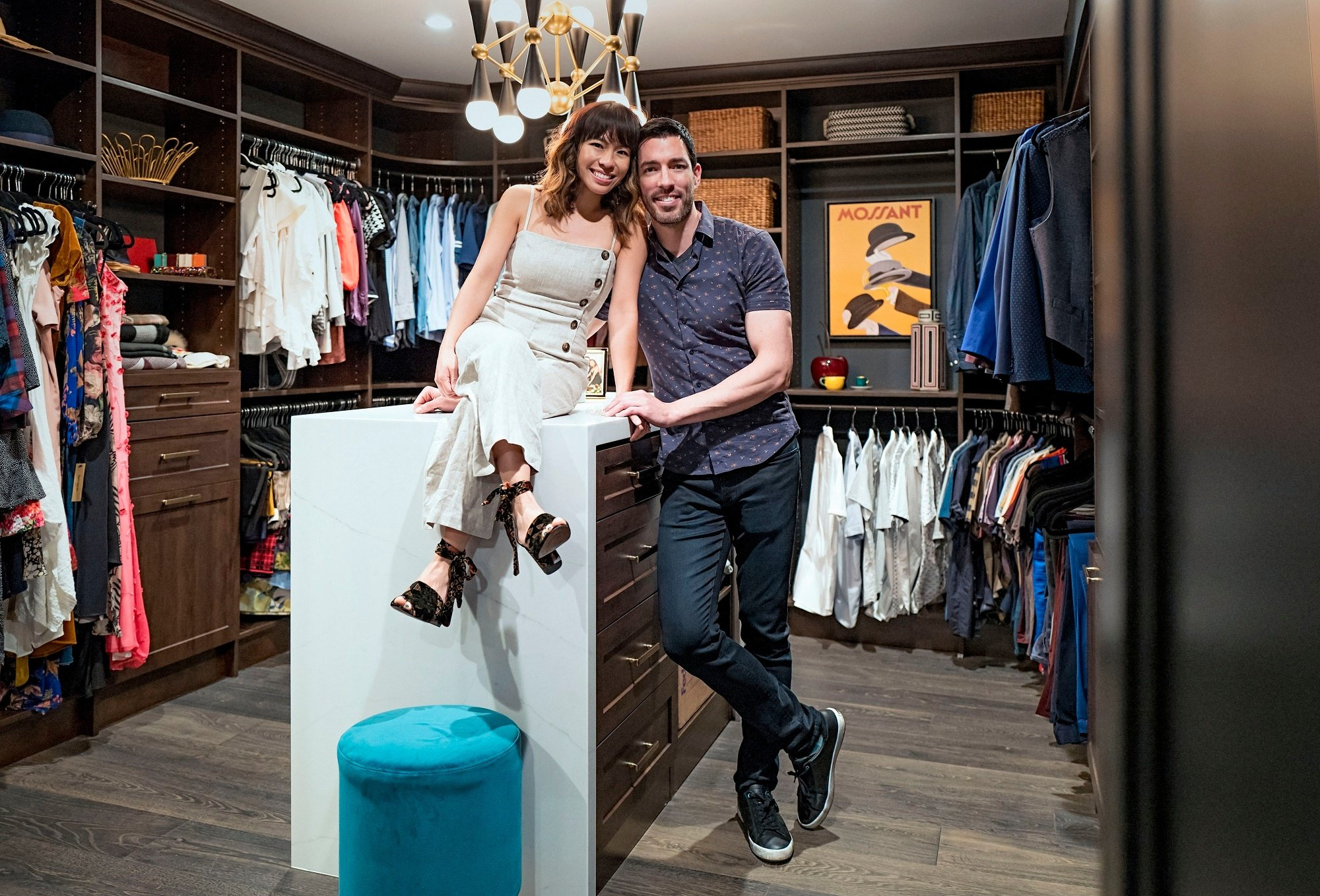 Custom Closets for Drew Scott and Linda Phan – Q & A