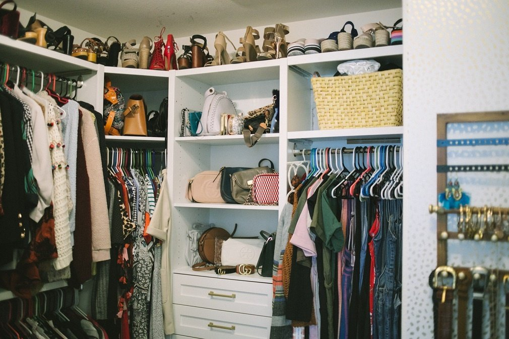 Custom Master Closet for Life of a Sister