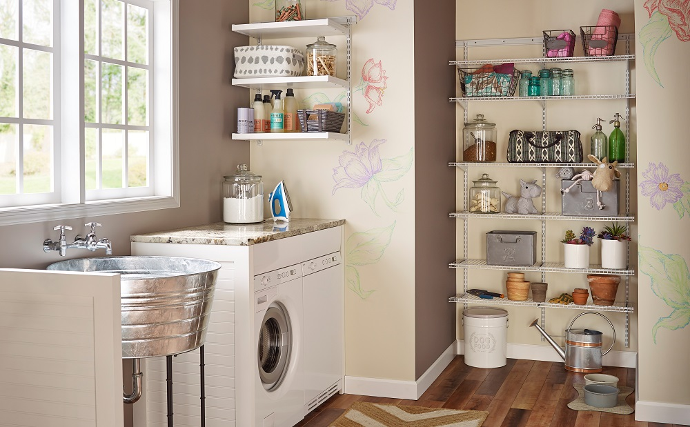 closetmaid\u0027s holiday gift guide part 2Closetmaid Laundry Room #20