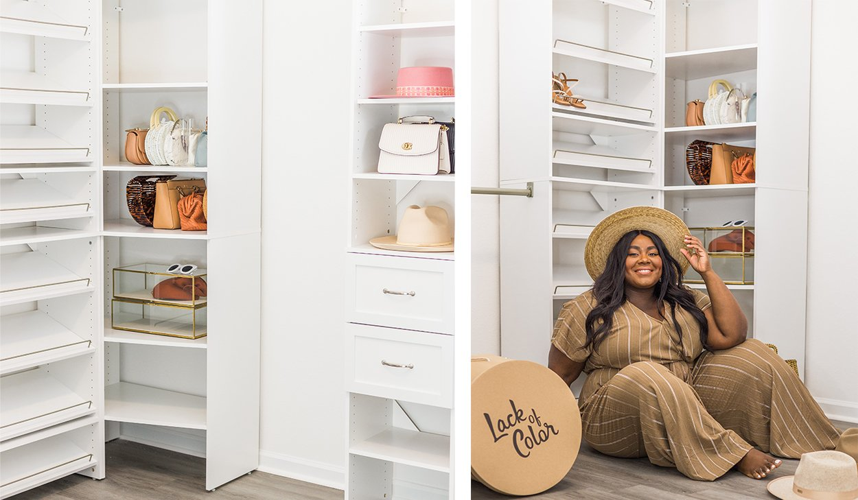 A Fashion Blogger's Deluxe Walk-in Closet