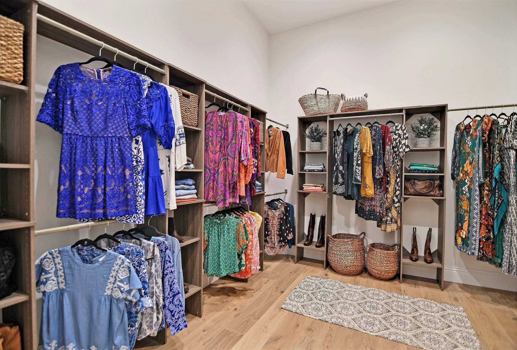 Go Behind the Scenes of a Farmhouse Dream Closet Design