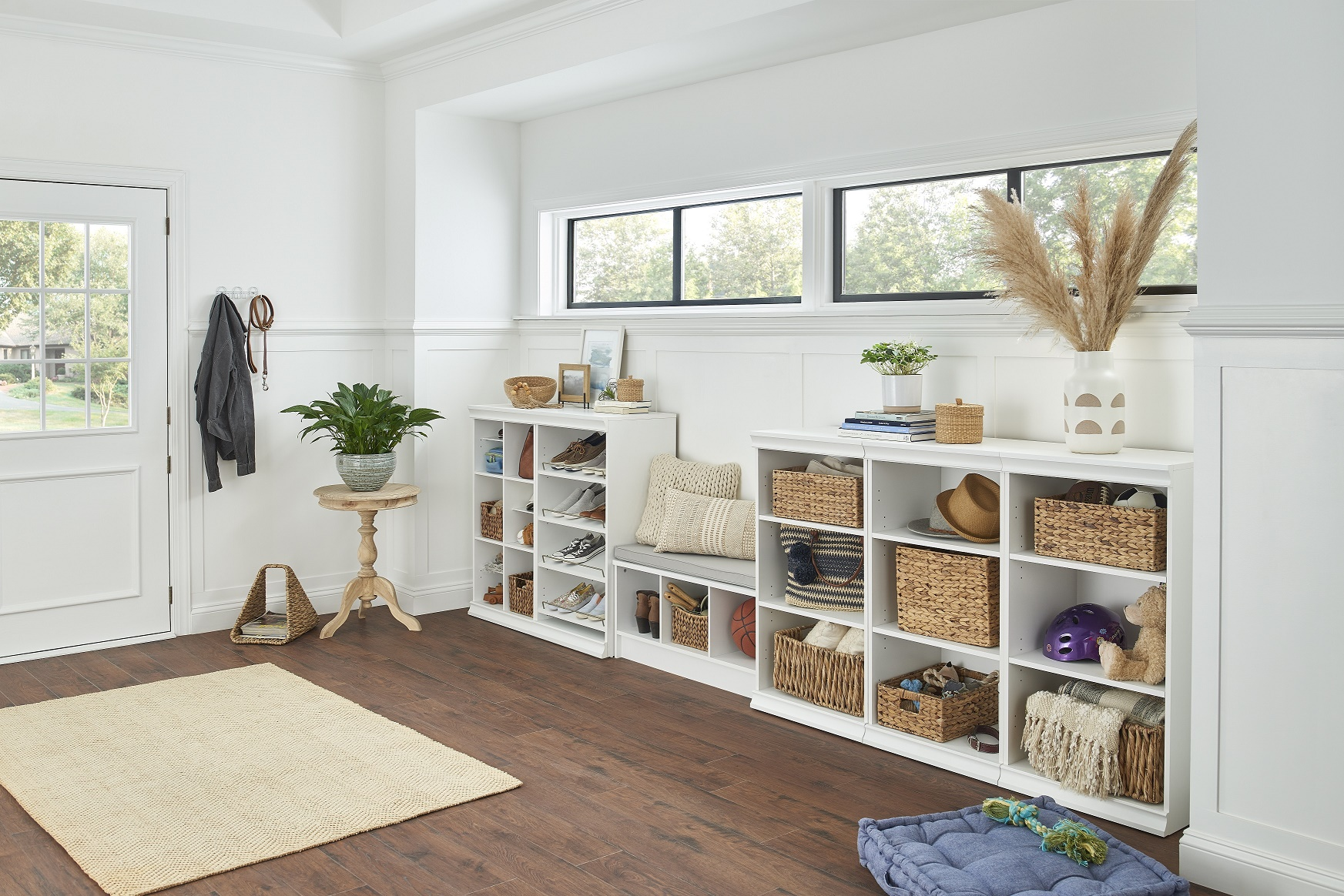 Indoor/Outdoor Living: How to Organize Your Mudroom and Decorate Your Patio