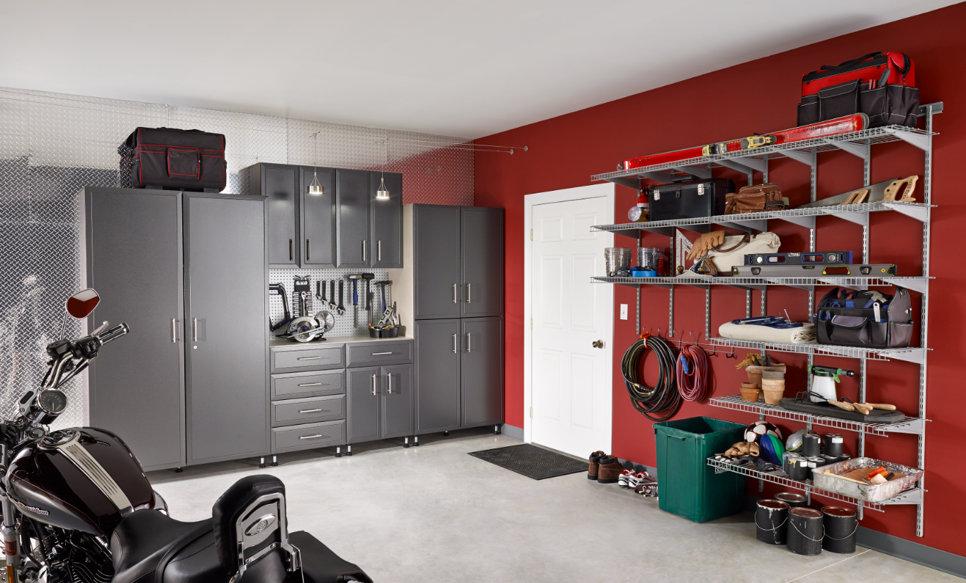 How to Organize Your Garage, Basement, and Attic