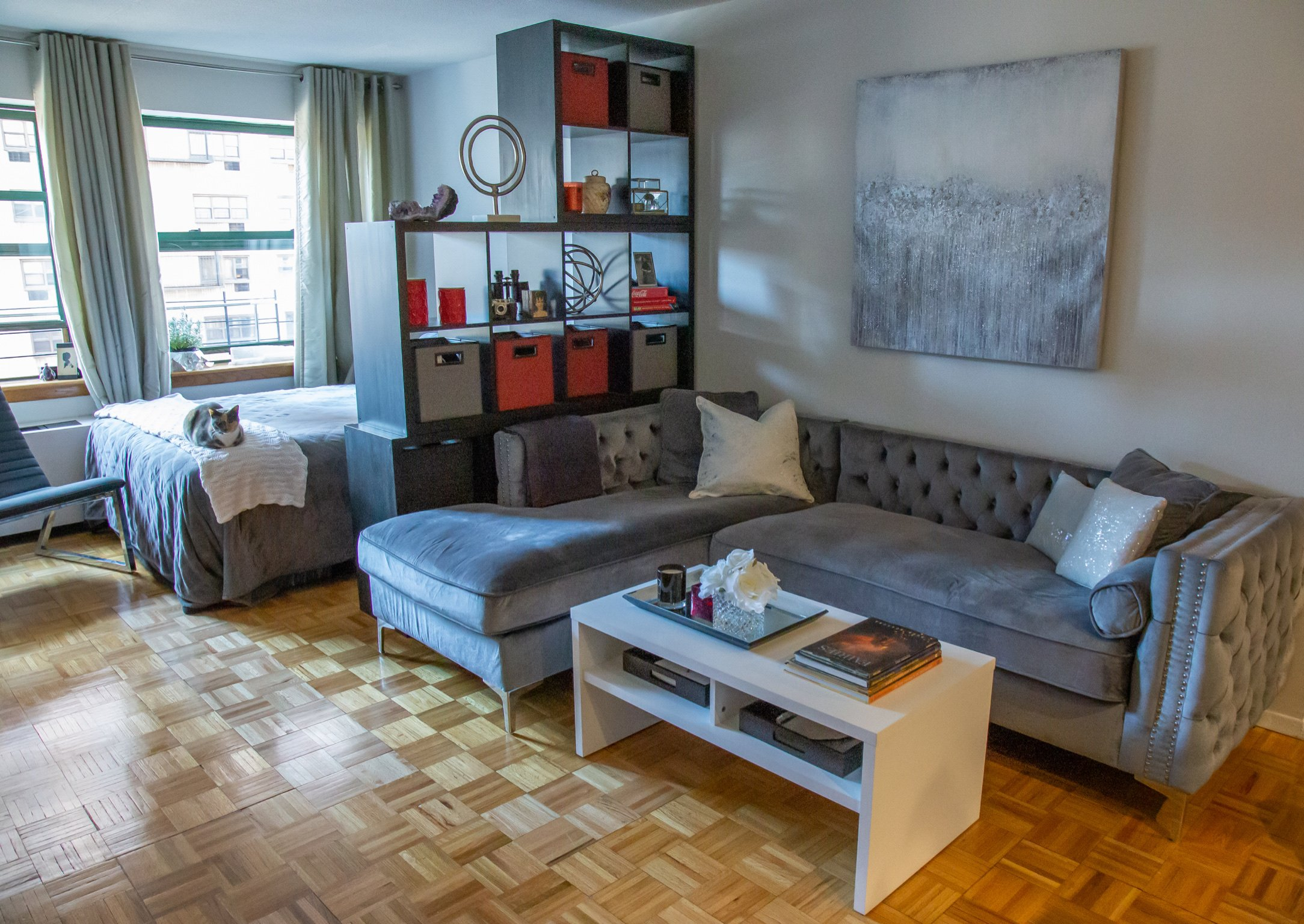 Before and After: Barbara Reich Transforms An NYC Apartment on WPIX