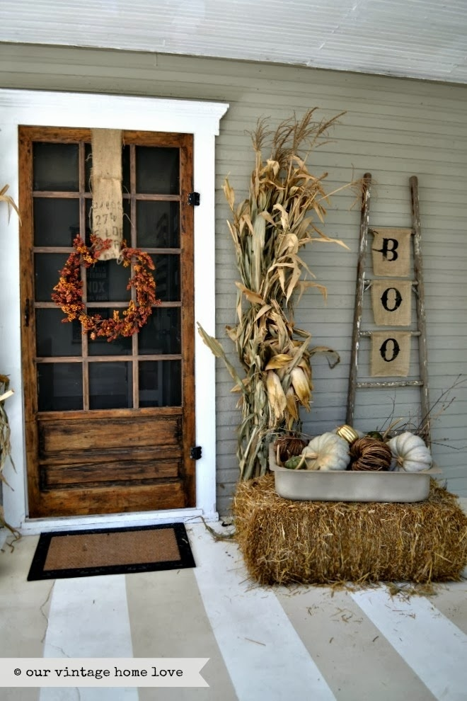 Beautiful Fall Entryways