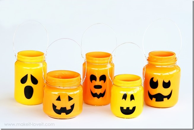 Bring Halloween to Life with Mason Jars