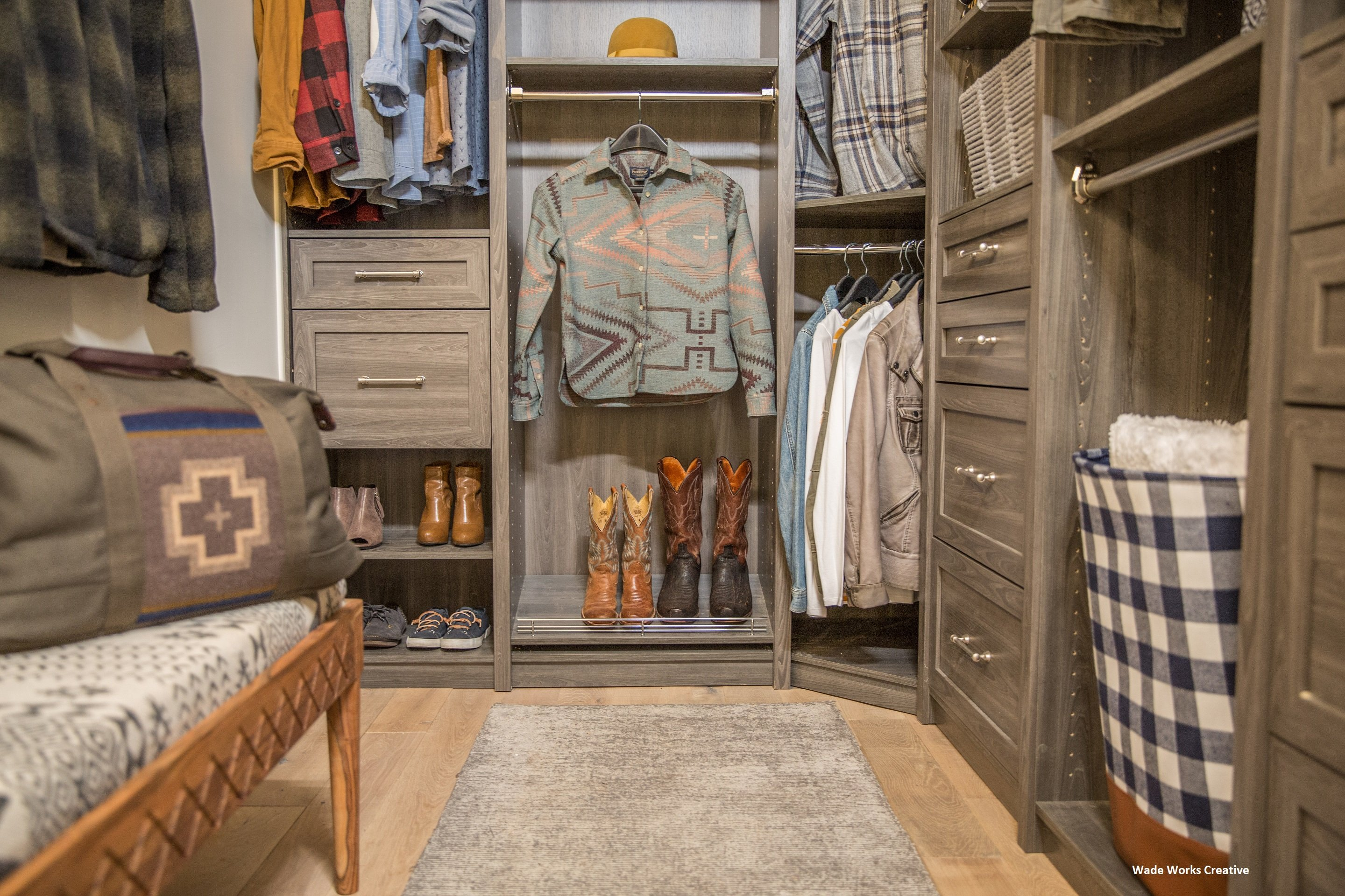 TV Host and Designer Chip Wade's Vacation Home Closet